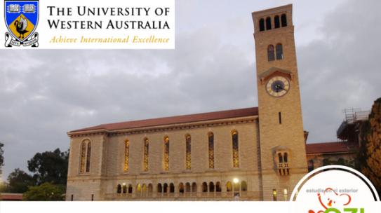 Becas The University of Western Australia UWA 2017