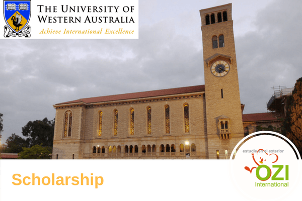 Becas The University of Western Australia UWA 2017